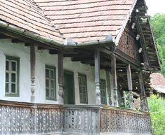Parasztházak - Régi székely házak - Jobbágytelke - Székelyföld - Erdély fotó Székedi Ferenc