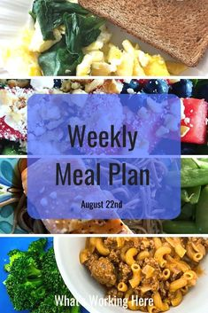 We are in full on back to school craziness which means planning out our meals is so important. See how I meal plan around after school activities and what is on this week's menu. Weekly Menu Printable, Weekly Menu Template, Meal Planning Printable, Menu Planning, Nutrition Program, Nutrition Plans, Beachbody Meal Plan, Portion Control, Convenience Food