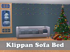 Advent Calendar 2015 - Day 20 Bed - Klippan Sofa Bed A single sofa bed, slaved to the Klippan sofa. Requires IKEA SP. Polycount: 2610 This only functions like a bed! If you want it to function like a...