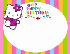 Hello Kitty Printable Invitations New Hello Kitty Free Printable Invitation Templates Hello Kitty Invitation Card, Hello Kitty Birthday Invitations, Birthday Invitation Card Template, Free Printable Invitations Templates, Invitation Cards, Birthday Cards, Invitations Online, 15th Birthday, Diy Birthday