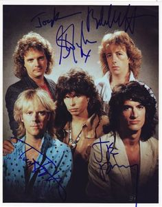 The kings of Rock n Roll!! With signatures <3