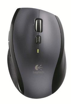 Logitech – Marathon Mouse M705 – souris sans fil USB – laser – Unifiying – argent: Défilement ultra-rapide Durée de vie des piles de trois…