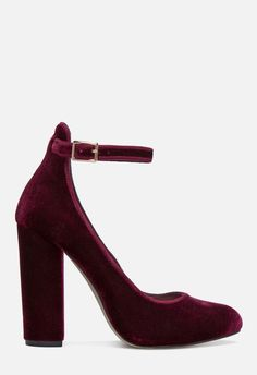 24884bb59 ULYSSA PUMP in bordeaux - Get great deals at JustFab Something New, New You,