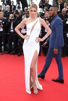 Dressed to Impress at the Cannes Film Festival - Doutzen Kroes-Wmag