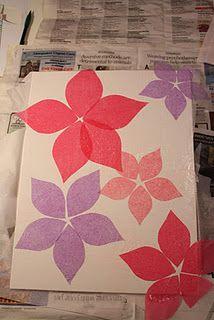 Super diy canvas art for kids room tissue paper ideas - My Home Decor