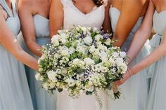 Gorgeous bridesmaid bouquets from Priory Barn & Cottages Syningthwaite