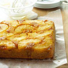 Carrot-Pineapple Upside-Down Cake - yum! More fall-inspired desserts: www.bhg.com/...