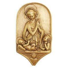 Design Toscano Madonna and Child with St. John the Baptist Wall Sculpture - EU9361
