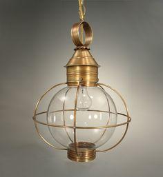 Round Onion Hanging Light