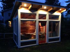 The Modern Backyard Office and Studio by Little Mansions www.artisanstructures.com