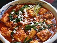 韓【豆腐と葱。赤の煮物】安旨早いでどう?の画像