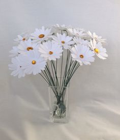 Hey, I found this really awesome Etsy listing at https://www.etsy.com/listing/153647122/paper-daisies-paper-flowers-wedding