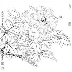 목단외 백묘 : 네이버 블로그 Korean Traditional, Traditional Art, Irezumi, Art Projects, Japanese, Drawings, Blog, Inspiration, Painting Art