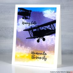 Liquid Watercolor, Watercolour, Text Background, Travel Cards, Sunset Sky, Masculine Cards, Long Distance, Small Groups, Card Making