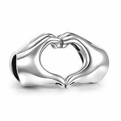 Description:    This super cute charm  bead is made out of pure sterling silver and shaped to resemble a pair of hands that are joined together to form a heart symbol.     Promotions/offers:    We offer discounts if you buy more than one item from us .  Write this coupon codes  at checkout :  TWOITEMS- to receive 10% discount from your total amount.  THREEITEMS- to receive 12% discount from your total amount.  FOURITEMS- to receive 15% discount from your total amount.    Packing and…