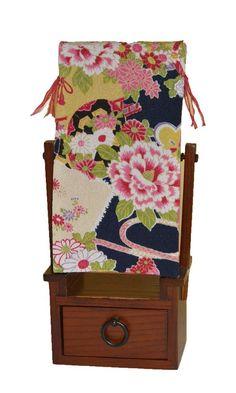 Amazon|どんどんどんの家具 姫鏡台 (遊雅/黒)|鏡台・ドレッサー オンライン通販