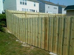 board on board style design privacy wood fence company raleigh north carolina prices quotes estimates costs