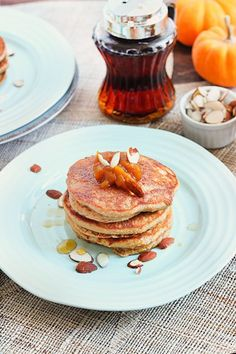 Grain Free Vanilla Chai Pancakes - Queen of Quinoa-3