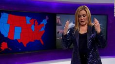 """Full Frontal"" host Samantha Bee blamed herself for jinxing the 2016 presidential election."