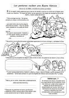 La Catequesis (El blog de Sandra): Recursos Catequesis Infancia de Jesús