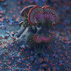 Fantasy II by batjorge on DeviantArt Fractal Images, Fractal Art, Psychedelic Quotes, Psy Art, Visionary Art, Trippy, Sculpture Art, Abstract Art, Abstract Landscape