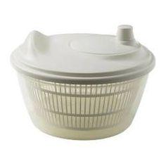 IKEA - ТУКИГ, Сушилка для салата, Миску можно использовать для сервировки, например, подавать в ней салат.