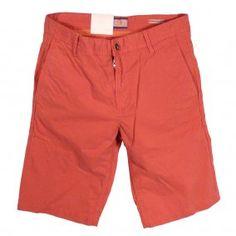 HUGO BOSS Red Schino Shorts