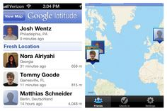 Where's Walter?  Geo-locate your team with Google Latitude (smart phone app)
