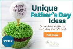 50 Ways to Celebrate Fathers Day. Fun things to do with the kids/stepkids for their dad from Better Homes and Gardens.