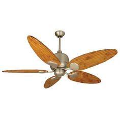 "Craftmade K11160 Kona Bay 54"" 5 Blade Outdoor Ceiling Fan w/ Blades"