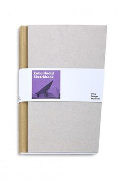 Vitra Design Museum Shop | Zaha Hadid Sketchbook - [ for knitting notes ]