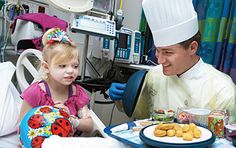 Chef Robert Grotha, St. Louis Children's Hospital food and nutrition services, describes how an encounter with a patient helped her and moved him.