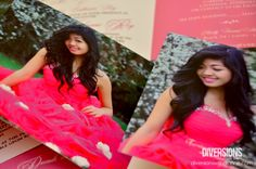 """Cabrini's Pink Themed Debut Invitation   """"Turning 18 is one of the most awaited events in my life, and because you are important to me, I wish that you share this special moment with me."""" – The Debutante"""