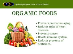 You can't even count the number of benefits you get by eating organic foods! #healthyeating #organicfoods