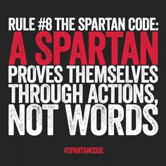 Actions and effort always speak louder then words and show a persons true feelings and intentions. Race Quotes, Men Quotes, Motivational Quotes, Inspirational Quotes, Hockey Quotes, Spartan Women, Spartan Race, Life Motivation, Fitness Motivation