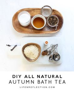 DIY Pumpkin Spice Bath Tea, for an Autumn Soak