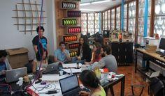 Garagem Fab Lab, em São Paulo