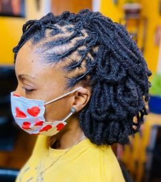 Thick Dreads, Short Dreads, Short Locs Hairstyles, Natural Dreads, Natural Afro Hairstyles, Cool Hairstyles, Natural Hair Styles, Small Dreads, Beautiful Hairstyles