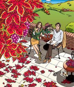 わたせせいぞう Japanese Illustration, Art Sketches, Gratitude, Love Story, Oriental, Art Gallery, Illustrations, Cartoon, Comics