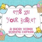 This product has 2 activities. A sorting center with recording sheet at a cut and paste activity both focusing on short vowel sounds.    Check out my...
