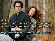 sweet memories: Love is that condition in which the happiness of a...