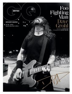 Dave Grohl - Foo Fighters British GQ magazine. 2018