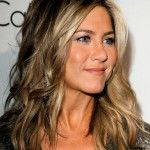 Jennifer Aniston hair color great hair Half Up / Half Down Hair? Jennifer Aniston Hair Color, Jenifer Aniston, Jennifer Garner Hair, Hair Color Dark, Brown Hair Colors, Hair Colour, Blonde Color, 2015 Hairstyles, Trendy Hairstyles