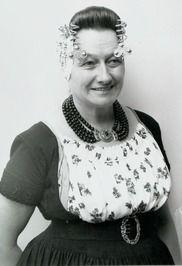 Vrouw in Walcherse dracht
