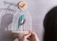 Jingoo The Ambient Bird Cage Light and Bluetooth Speaker. l #design #lighting