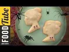 Vampire Bite Halloween Cookies | Dulce Delight - YouTube