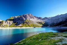 Storage Reservoir Lake Luener by Martin Walser on Austria, Mountains, Storage, Nature, Photography, Travel, Naturaleza, Fotografie, Voyage