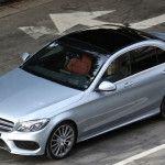La nouvelle Mercedes Classe C spyshotée