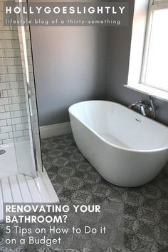 Is Really Enough For Your Home Renovation Pinterest - Renovate your bathroom on a budget