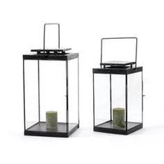 Set Of Two Conran Lanterns